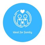 icon ideal for family