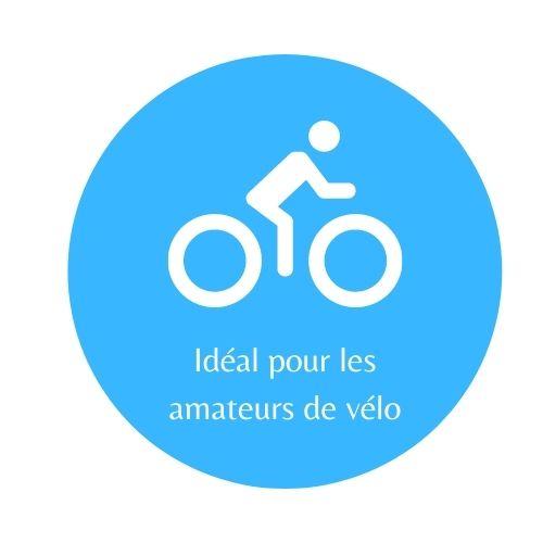 Idéal pour les amateurs de vélo